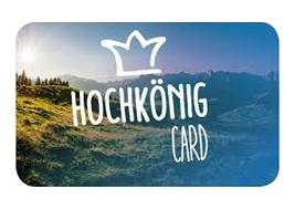 Hochkönig Card - kostenlos im Sommer nutzen, wenn Sie im Ferienhaus Kilian in Dienten wohnen